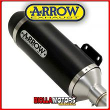 53507ANN+53054MI TERMINALE ARROW URBAN KEEWAY CITY BLADE 125 / 150 2015 DARK/DARK + COLLETTORE RACING