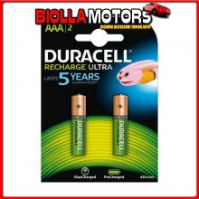 DC4803817 DURACELL DURACELL RECHARGE ULTRA, MINI STILO ?AAA?, 2 PZ