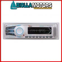 5640102 STEREO BOSS MARINE MR1308UAB BLUETOOTH< Radio-Lettore BOSS MR1308UAB RDS / USB / SD / Bluetooth