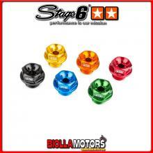S6-SSP140/BL TAPPO OLIO MOTORE STAGE6 MINARELLI ORIZZONTALE VERTICALE BLU ANODIZZATO