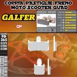 FD365G1300 PASTIGLIE FRENO GALFER GP ANTERIORI YAMAHA YZF 1.000 R-1 TCS 12-