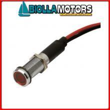 2105008 SPIA 8MM RED Spie LED OC 8MM 12V