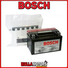 0092M60070 BATTERIA BOSCH YTX7A-BS SIGILLATA CON ACIDO YTX7ABS MOTO SCOOTER QUAD CROSS