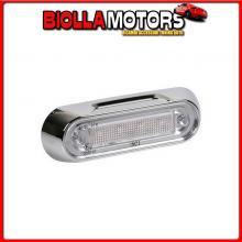 41500 LAMPA PREMIUM, LUCE A 4 LED, MONTAGGIO SUPERFICIE, 12/24V - ARANCIO