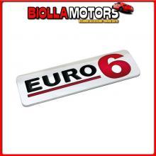 98126 LAMPA EMBLEMA ANTINQUINAMENTO 3D CROMATO - 170X50 MM - EURO 6