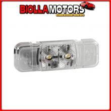 97000 LAMPA LUCE INGOMBRO A 2 LED, 24V - BIANCO