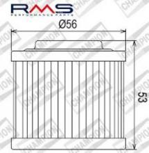 100609205 COF051 FILTRO OLIO BOMBARDIER DS650 00 (X305)