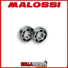 6614423E CUSCINETTI ALBERO MALOSSI ? 17x47x14 APRILIA RS 50 2T LC (MINARELLI AM 3 > 6) - -