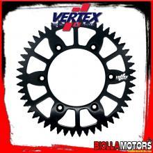 892-2068ECBK50 CORONA VERTEX EC 50-520 TM MX 250 Fi 2012-2014 250CC - ALLUMINIO/NERO
