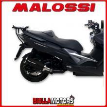 3218341 MARMITTA MALOSSI WILD LION KYMCO XCITING 400 ie 4T LC euro 4 (SK80B) OMOLOGATA