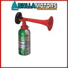 1902001 TROMBA GAS 300ML INF Tromba con Bomboletta Gas Horn TA1