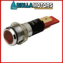 2105006 SPIA PILOT LIGHT 12MM YELLOW< Spie LED OC 12MM 12V