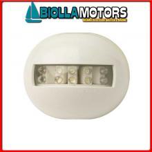 2111609 FANALE POPPA CE WHITE PL< Fanale di Poppa PL Round LED (CE)