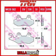 MCB582SRM PASTIGLIE FRENO ANTERIORE TRW Hyosung MS 250 3i 2007-2010 [ORGANICA- ]