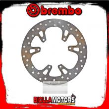 68B40796 FRONT BRAKE DISC BREMBO HONDA CR E 2002-2008 125CC FIXED