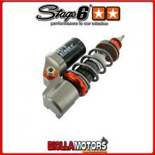 S6-14612001 Ammortizzatore Stage6 R/T HIGH-LOW, anteriore - duro PIAGGIO VESPA 80 PK S Automatic 1984 (VA81T) STAGE6 RT