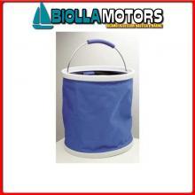 5709096 SECCHIO PIEGHEVOLE EASY-STORE 11L BLUE Secchio Pop-Up con Coperchio
