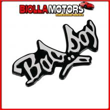 07233 PILOT EMBLEMA 3D CROMATO - BAD BOY