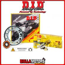 3716381343 KIT TRASMISSIONE DID CAGIVA Mito 125 - Mito Carenato ( Ratio - 3 ) 1990-1992 125CC