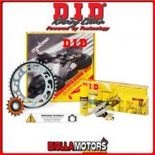 3757061742 KIT TRASMISSIONE DID MOTO MORINI Scrambler - Sport - Granpasso ( Ratio - 2 ) 2008-2009 1200CC
