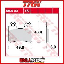 MCB766 PASTIGLIE FRENO ANTERIORE TRW Gas Gas TX 125 Randonne 2012- [ORGANICA- ]