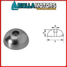 5111312 ANODO OGIVA J-PROP ALU D90 Anodi in Alluminio a Ogiva J-Prop