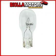 58099 LAMPA 12V LAMPADA CON ZOCCOLO VETRO - W16W - 16W - W2,1X9,5D - 2 PZ - D/BLISTER