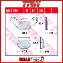 MCB519EC PASTIGLIE FRENO ANTERIORE TRW FlexTech (Benzhou) 50 Speedy, TVZ - [ORGANICA- EC]