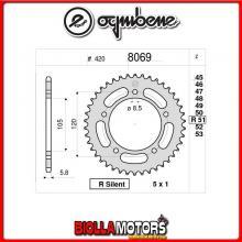 368069055 CORONA TRASMISSIONE 55 PASSO 420 GENERIC TRIGGER 50 X 2009- 50CC