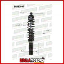 SAM0007 COPPIA AMMORTIZZATORI ANTERIORI MICROCAR JDM ABACA 813101 (MK007)