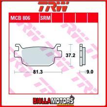 MCB806SRM PASTIGLIE FRENO POSTERIORE TRW Honda FES 125 S-Wing 2007- [ORGANICA- ]
