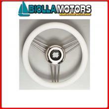 4641736 VOLANTE D350 V/STEEL POLIURETANO WHITE Volante V25/Steel