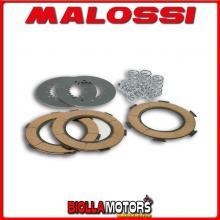 5216505 SERIE DISCHI FRIZIONE MALOSSI (6 MOLLE) VESPA PX 125 2T euro 0-1