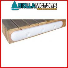 3800830 PARACOLPI DOCK EDGE BUMP 90CM WHITE Piastra Paracolpi Dock Edge UltraGard
