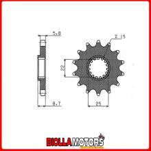 547330114 PIGNONE S AC P520-D14 BETAMOTOR ENCC 250 RR EN (Mot.KTM) 05/11