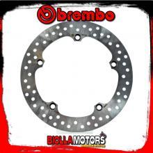 68B407N1 REAR BRAKE DISC BREMBO HONDA CROSSTOURER 2012-2014 1200CC FIXED