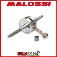 538009 ALBERO MOTORE MALOSSI SPORT MBK NITRO 50 2T LC BIELLA 85 - SP. D. 12 CORSA 39,2 MM -