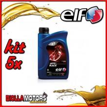 KIT 5X LITRO OLIO ELF MOTO 2 RACE SINTETICO - 5x 201733
