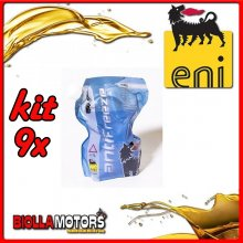 KIT 9X LITRO LIQUIDO RADIATORE ENI ANTIFREEZE READY - 9x E161172