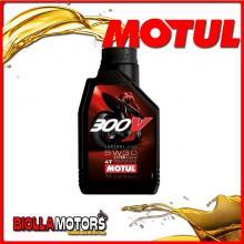 104108 1 LITRO OLIO MOTUL 300V FACTORY LINE ROAD RACING 5W30 100% SINTETICO PER MOTORI 4T