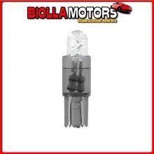 58414 PILOT 12V MICRO LAMPADA ZOCCOLO PLASTICA 1 LED - (T5) - W2X4,6D - 2 PZ - SCATOLA - BIANCO