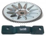 5425 ATTREZZO BLOCCA INGRANAGGIO AVVIAMENTO PER MOTORI / POUR MOTEURS / FOR ENGINES PIAGGIO 2t-4t DA/DE/FROM 50 A/TO 125 cc