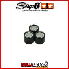 S6-G170325 RULLI VARIATORE STAGE6 (SET DI 3) 17X12 - 3.25GR