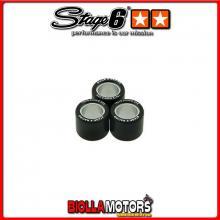 S6-G170500 RULLI VARIATORE STAGE6 (SET DI 3) 17X12 - 5.00GR