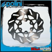 175.0051 DISCO FRENO POLINI POSTERIORE DERBI GPR 50 racing dal 2006-> (DERBI D50B) D.218