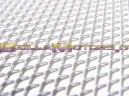 STR-051.45/AL GRIGLIA argento 30 x 30cm (MAGLIA GRANDE)