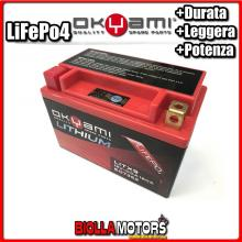 E07352 BATTERIA LITIO OKYAMI YTX9-BS LiFePo4 LITX9 YTX9BS MOTO SCOOTER QUAD CROSS