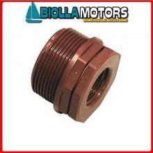 1440680 BUSSOLA DI RIDUZIONE 3/4X1/2 BROWN Riduzione M-F in PP Tech-Hi