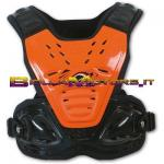 PT02084F Pettorina Reactor 2 Evolution COL. ARANCIO NERA CROSS OFF ROAD ENDURO
