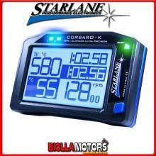 CORSK Cronometro STARLANE CORSARO-K GPS + GLONASS con Display Touch Screen Monocromatico e connessione Bluetooth. Versione speci